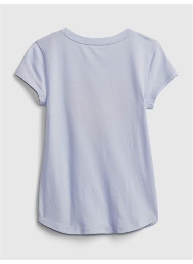 Gap Organik Grafik T-Shirt Gri